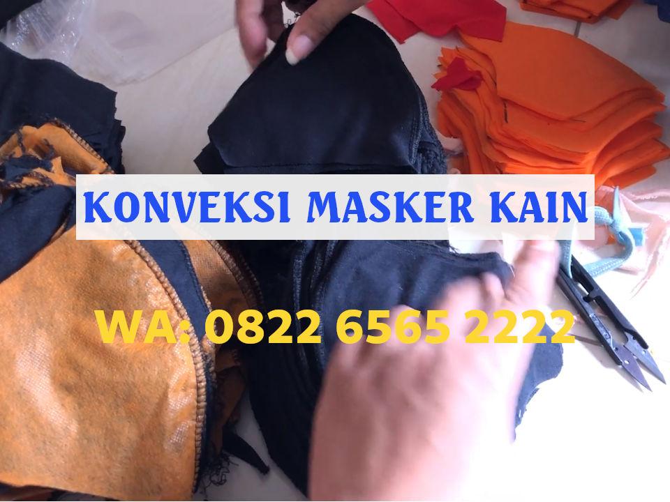 Produsen Masker Kain Scuba Surabaya, Harga Masker Termurah Mulai Rp2.500/pcs