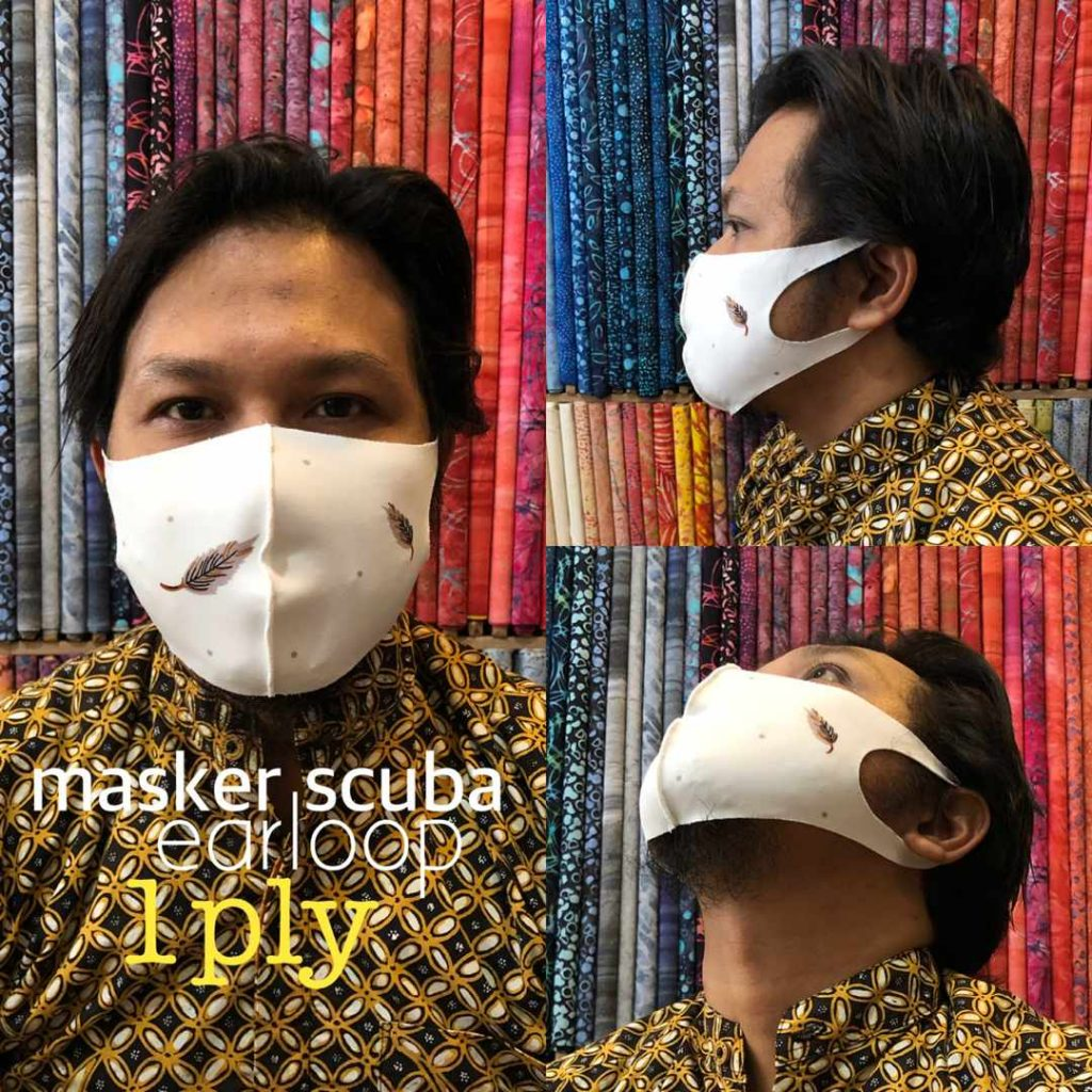 Produsen Masker Kain Scuba Surabaya Harga Murah dan Berkualitas