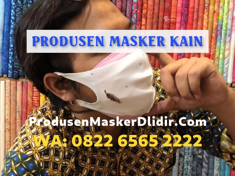 Konveksi Masker Kain Scuba Bandung Harga Mulai Rp1.900/pcs